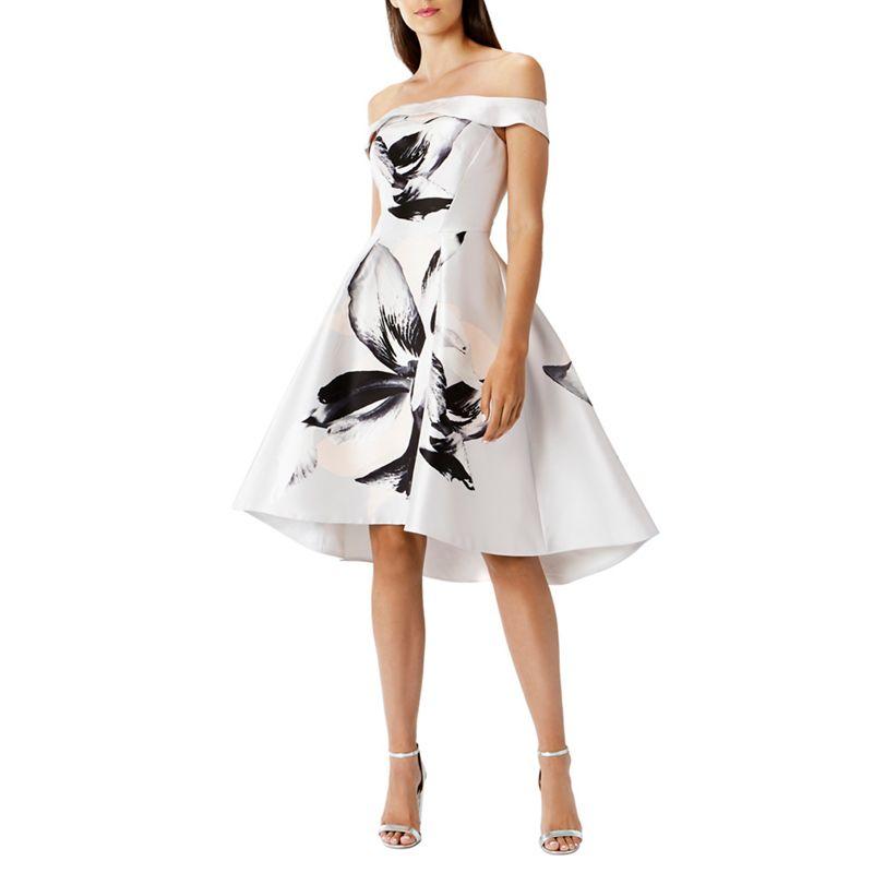 Coast Victorie print dress