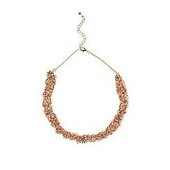 Coast - Rose gold hemera sparkle necklace