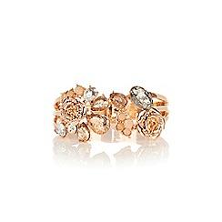 Coast - Freya floral cuff bracelet
