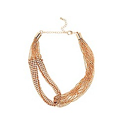 Coast - Almond 'Alena' loop necklace