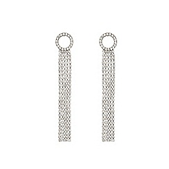 Coast - Silver 'Kyoni circle tassel' earrings
