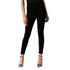 Coast - Black suedette 'mikey' leggings