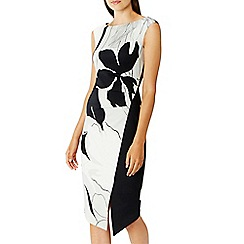 Coast - Monochrome barton print 'Iris' shift dress