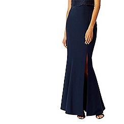 Coast - Navy 'Alice' maxi bridesmaid skirt