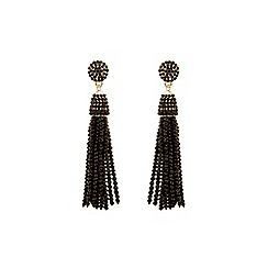 Coast - Black 'Vita' tassel earrings