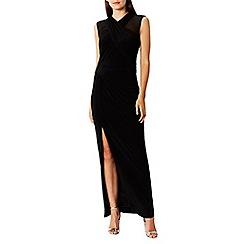 Coast - Black jersey 'Iris' high neck maxi dress