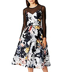 Coast - Debenhams Exclusive   Multi floral print 'Canta' fit & flare dress