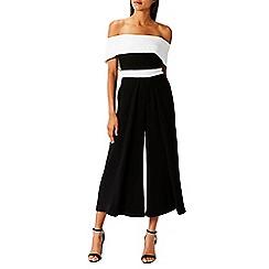 Coast - Mono 'Maddie' bardot wide leg crop jumpsuit