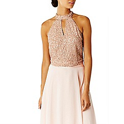 Coast - Blush 'Milly' choker bridesmaid top