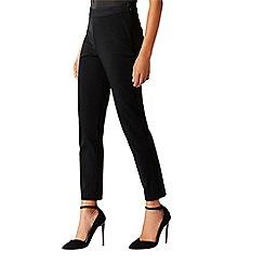 Coast - Black trim 'Lette' cigarette trousers
