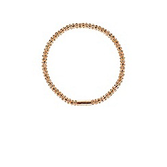 Coast - Rose gold  'Seline sparkle'  wrap necklace