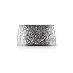 Coast - Silver glitter ombre 'Myra' clutch bag