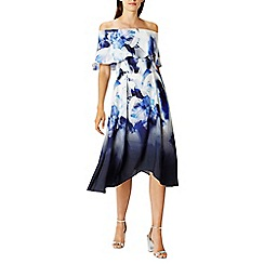 Coast - Multi idole print 'Brooke' bardot dress