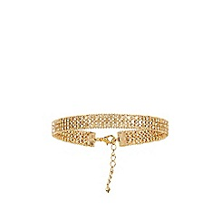 Coast - Gold 'Kendall' choker necklace