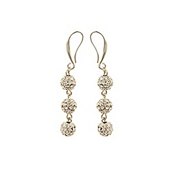 Coast - Silver 'Elva' Sparkle Ball Earrings