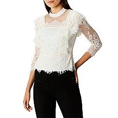 Coast - Ivory lace 'Victoriana' 3/4 sleeves blouse