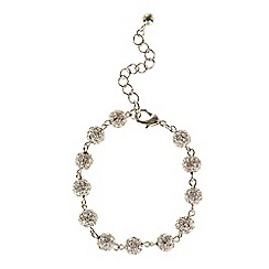 Coast - Silver 'Elva' Sparkle Ball Bracelet