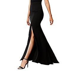 Coast - Black 'Ceri' full length maxi prom skirt