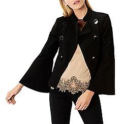 Coast - Black 'Karyn' long sleeved military jacket