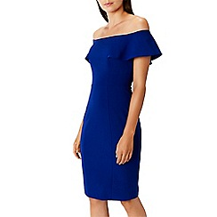 Coast - Colbalt 'Nancy' bardot dress