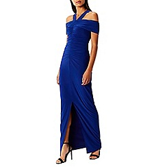 Coast - Cobalt jersey 'Vita' halterneck maxi dress