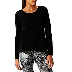 Coast - Saskia feather knit top