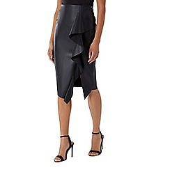 Coast - Alexis ruffle polyurethane skirt