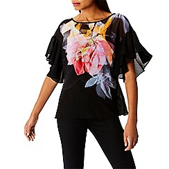 Coast - Multi luna print 'Angel' top