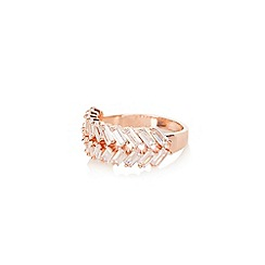 Coast - Almond cubic zirconia 'Louise' ring