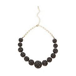 Coast - Black sparkle 'Melanie' necklace