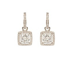 Coast - Silver cubic zirconia 'Nina' earrings