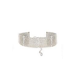 Coast - Silver choker 'Eshita' necklace