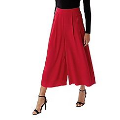 Coast - Red 'Gilly' crop wide leg trouser