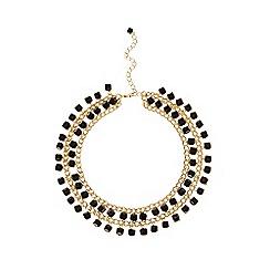 Coast - Black beaded 'Aleina' necklace