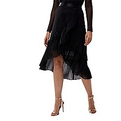 Coast - Black LORETTA pleated skirt