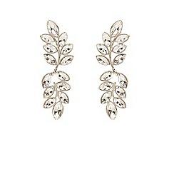 Coast - Silver longline 'Ivy' earrings