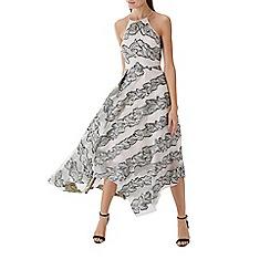 Coast - Metalic print 'Josie' midi dress