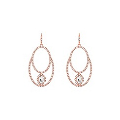 Coast - Rose Gold 'Liana' hoop earrings