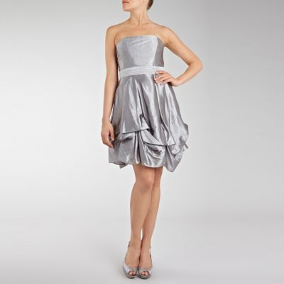 Coast Dresses on Silver Metallic Hitched Dress By Coast 58607 2143412141