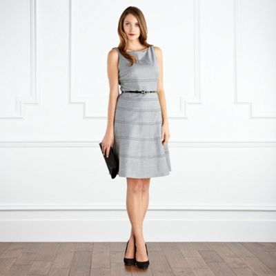 Grey Alberta Tailored Dress