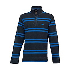 Raging Bull - Double Stripe 1/4 Zip Navy/Cob