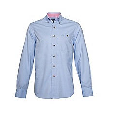Raging Bull - Oxford Shirt Sky Blue