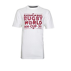 Raging Bull - Home Nations T-Shirt White