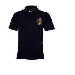 Raging Bull - World Cup Crest Pique Polo Navy