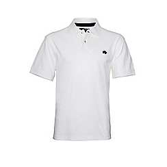 Raging Bull - White new signature polo shirt