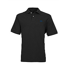 Raging Bull - Black new signature polo shirt
