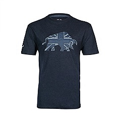 Raging Bull - Chambray applique T-shirt