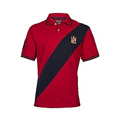 Raging Bull - Diagonal sash polo
