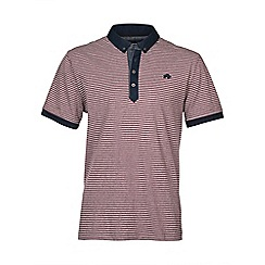 Raging Bull - Fine Stripe Jersey Polo