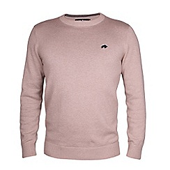 Raging Bull - Crew Neck Oatmeal